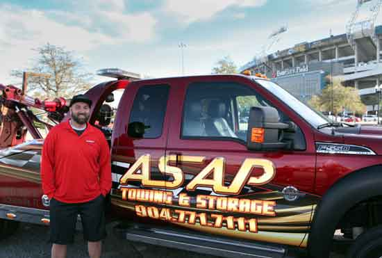 Jason Henderson of ASAP Towing