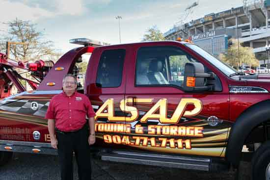 Maury Kopman of ASAP Towing