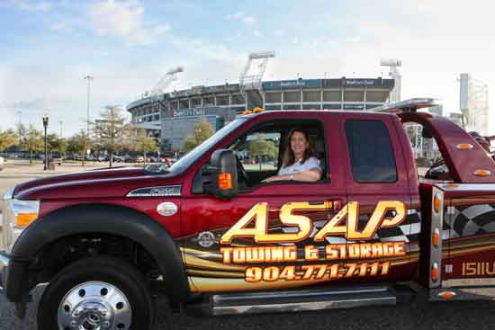 Vanice Serrano of ASAP Towing