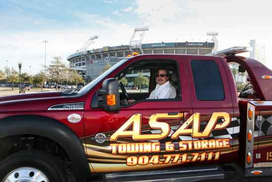 Vince Serrano of ASAP Towing